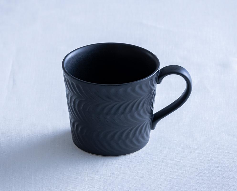 ローズマリー マグカップ マットブラック