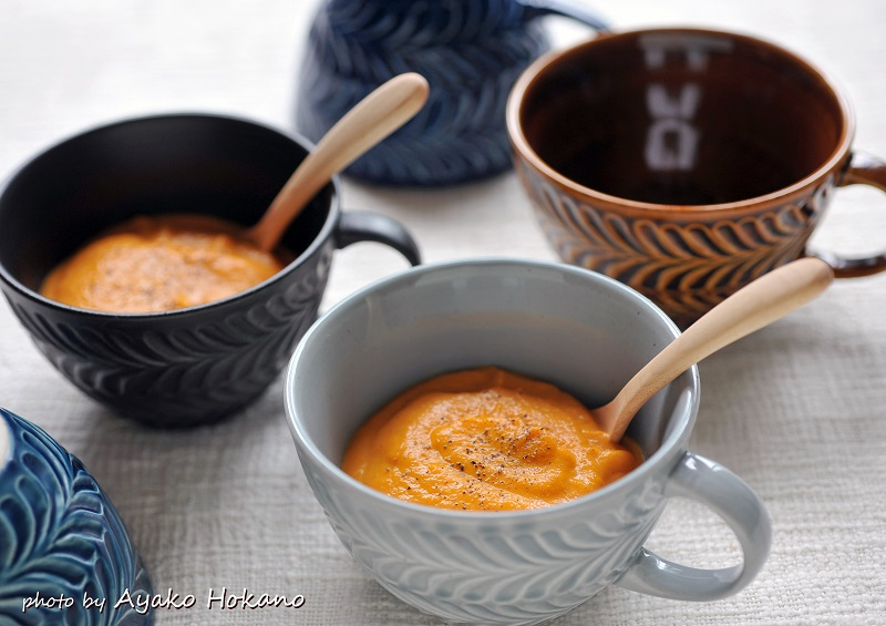 ローズマリー スープカップ グレー
