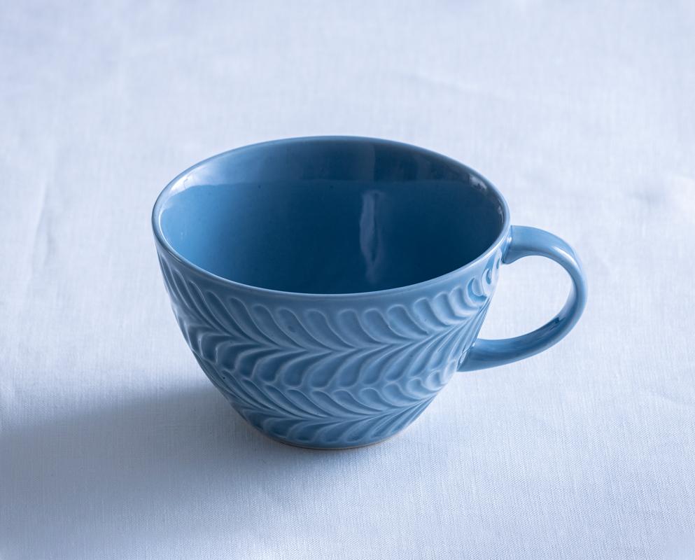 ローズマリー スープカップ ブルーグレー