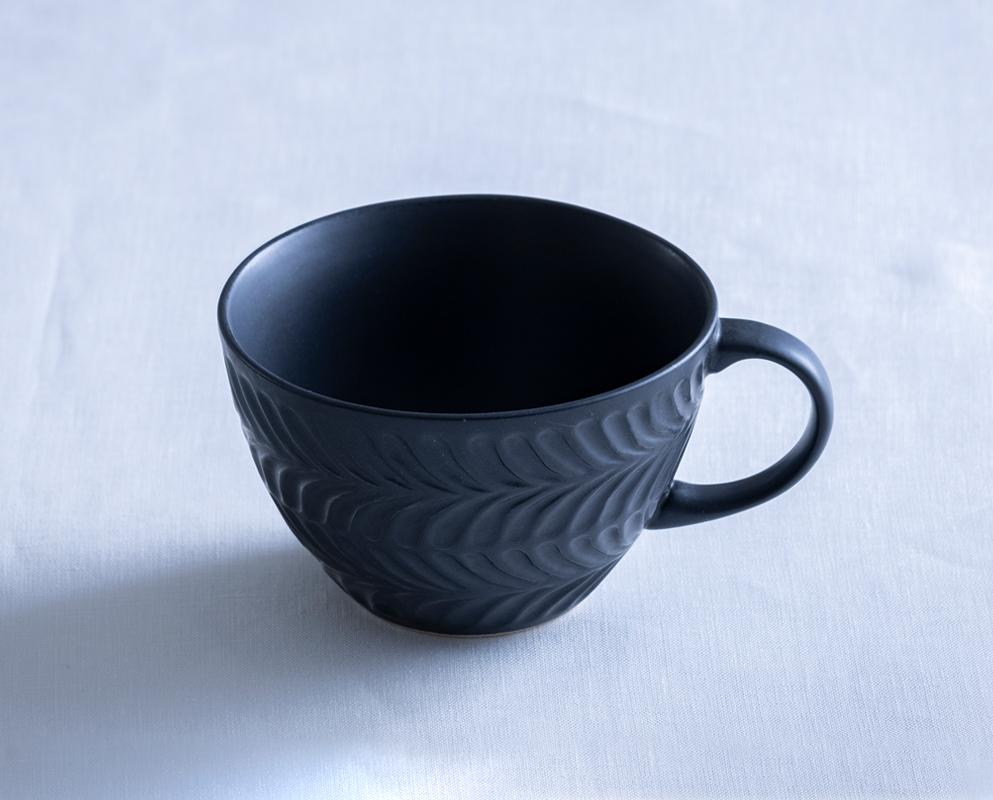 ローズマリー スープカップ マットブラック
