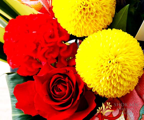【敬老の日アレンジ】 楓葉-ふうよう-【ヤマト宅配140cmサイズ】