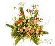 【スタンド生花】御祝生花スタンド(標準タイプ) イエローオレンジ系