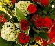 【スタンド生花】御祝生花スタンド(標準タイプ) レッドグリーン系