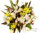 【スタンド生花】御祝生花スタンド(標準タイプ) イエローピンク系