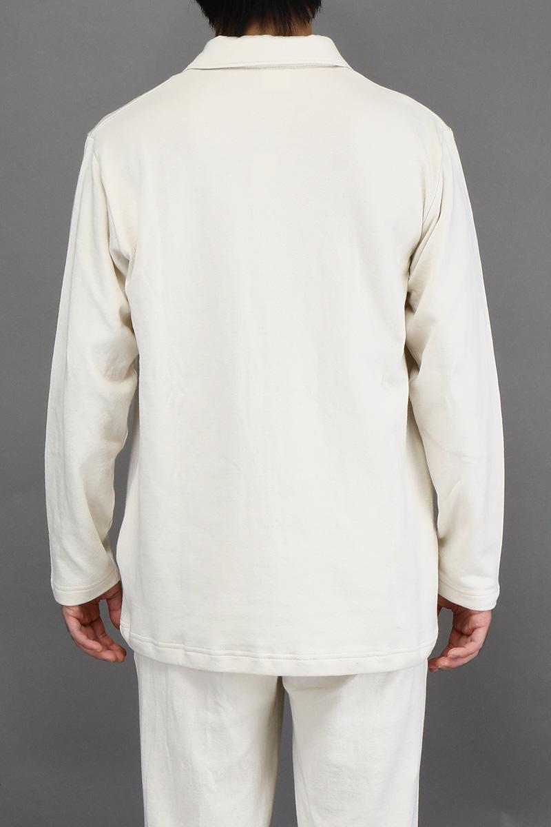 メンズパジャマシャツ