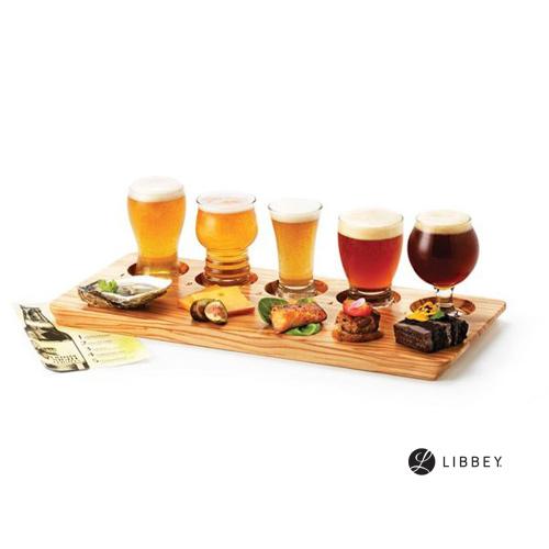 リビー|飲み比べ用木製サービングボード 96381