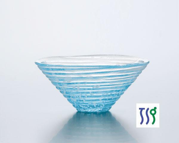 東洋佐々木ガラス | 和がらす | 41531 小鉢(かき氷・青) (3個入)