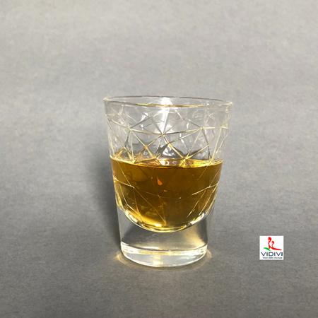 【ショットグラス/冷酒グラス】 ドロミティ ショット(80ml)・ヴェトレリエ リユニティ社