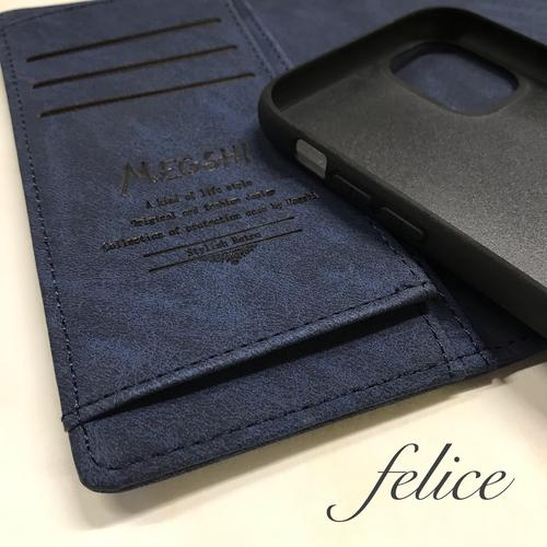【新作】 iphone11手帳型☆ウォレットケース☆収納抜群A