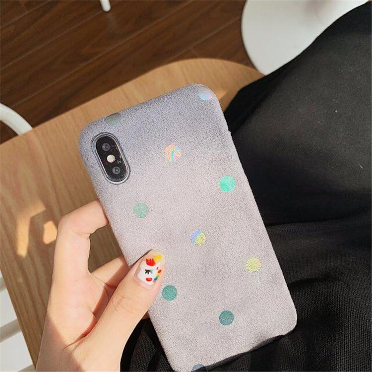 【新作】iphone11/11pro 水玉 スマホケース