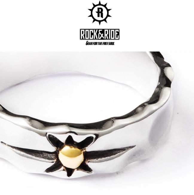 新品 ラグジュアリー 彫メンズ リング指輪 シルバー ビンテージ サンライズ