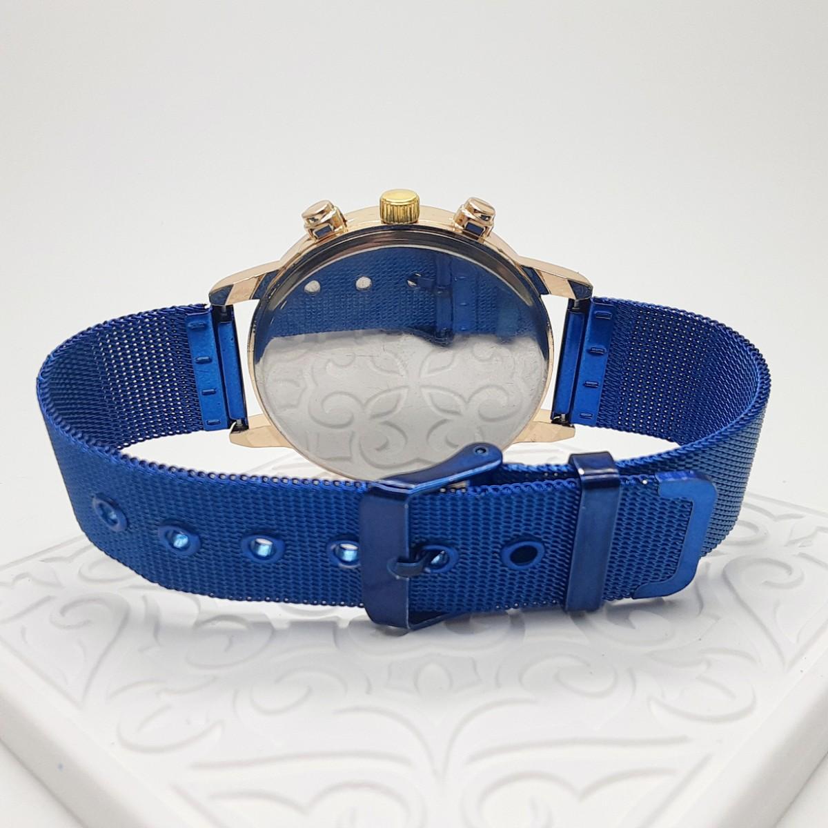 新品 デュアル クロノグラフタイプ YOLAKO 腕時計メンズ ラグジュアリー ブルー