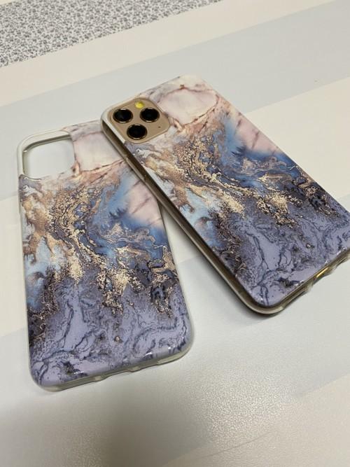【売れ筋アイテム】iphone11/proケース☆カメラ&ガラスフィルム付きB