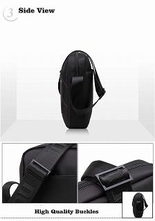 Tigernu ブランドショルダーバッグ  男性 10 インチ バッグクロスボディバッグ カジュアルビジネス <海外お取寄品>