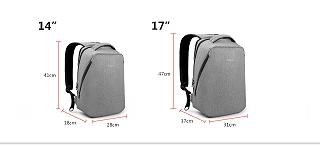 """Tigernu ブランド アーバン旅行バックパック 男性ライト backbag 女性バックパック 14 """"15"""" ノートPC <海外お取寄品>"""