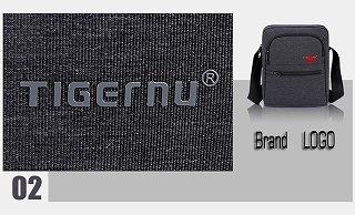 Tigernu ブランド高品質 メッセンジャーバッグ ミニビジネスショルダーバッグ クロスボディバッグ  <海外お取寄品>