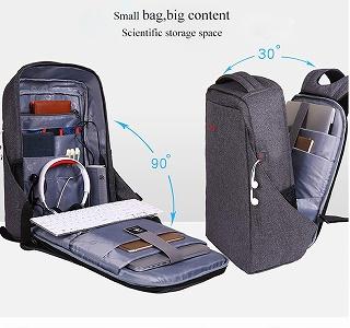 Tigernu 男性 盗難防止 ノートパソコン バックパック  USBバックパック 女性男性 bagpack   <海外お取寄品>