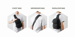 Tigernu ブランドメッセンジャーバッグ ビジネスショルダーバッグ レジャースリングバッグ  <海外お取寄品>