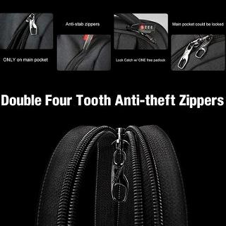 Tigernu バックパック 盗難防止 USB 充電 15.6 ラップトップバッグ   Bagpack ノートブック <海外お取寄品>