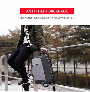 Tigernu 盗難防止 ファッション 女性 バックパック カレッジスクールバッグ  15.6 インチのラップトップ <海外お取寄品>