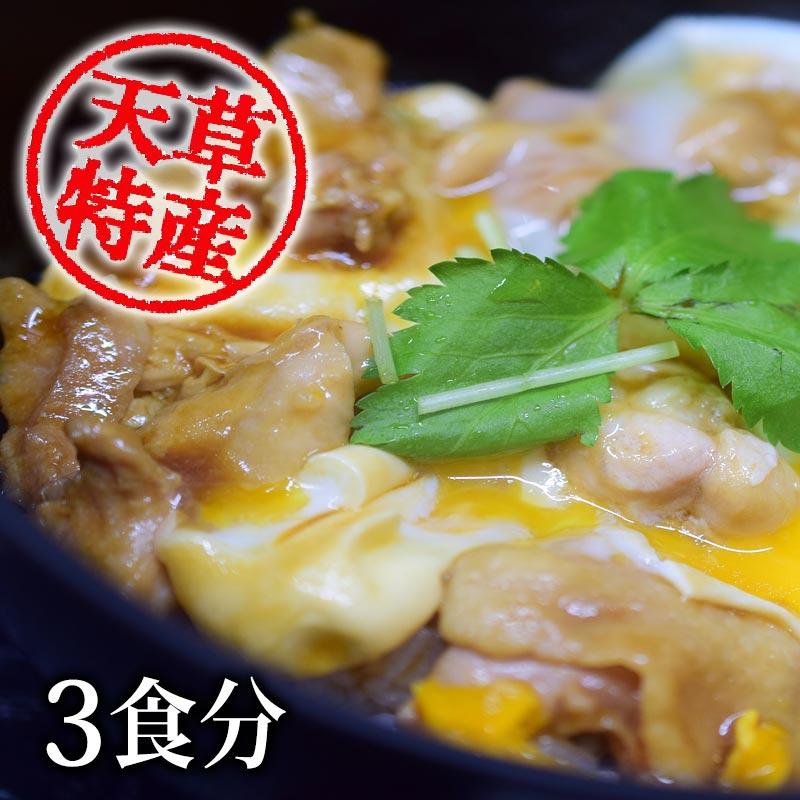 幻の地鶏「天草大王」親子丼の素 3袋