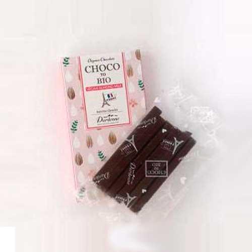 【秋冬限定】ダーデン チョコっとビオ 有機チョコレート アーモンドミルク 5本×2