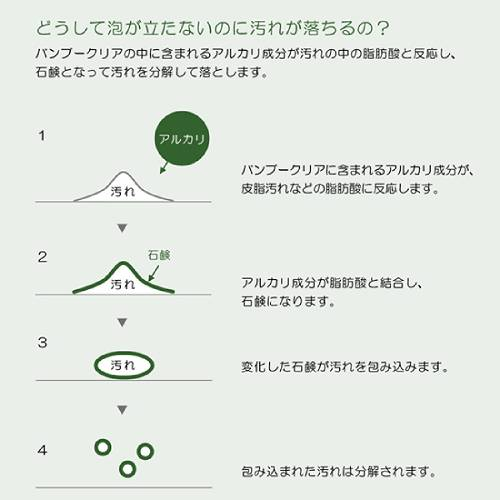 【5%OFF】エシカルバンブー バンブークリア パック 1L