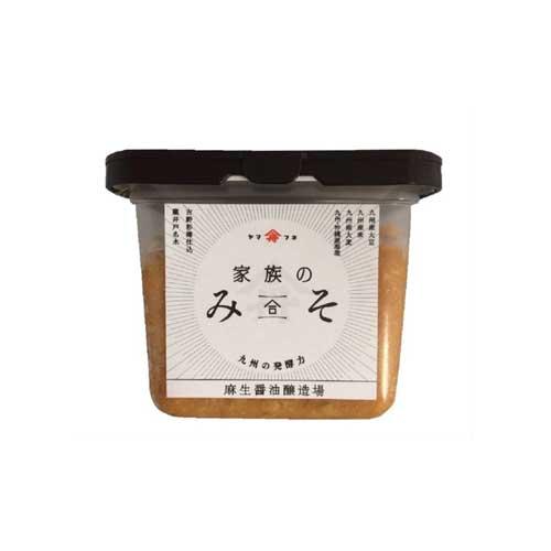 【九州の発酵力】麻生醤油 家族のみそ 500g