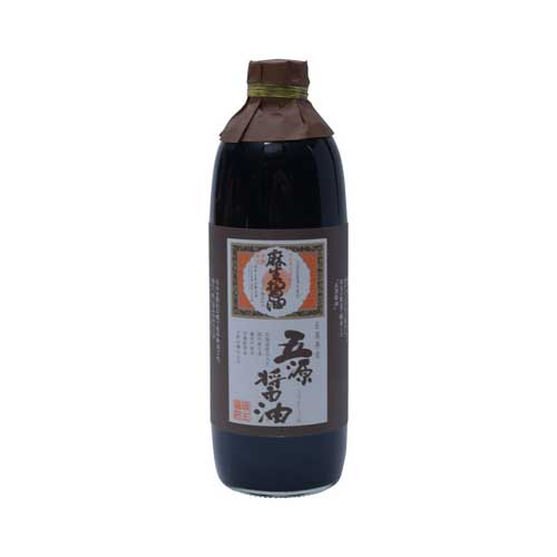 【九州の発酵力】麻生醤油 五源醤油 500ml