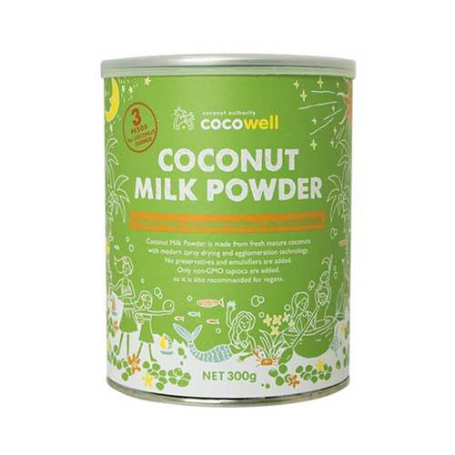 【販売終了】ココウェル ココナッツミルクパウダー 300g