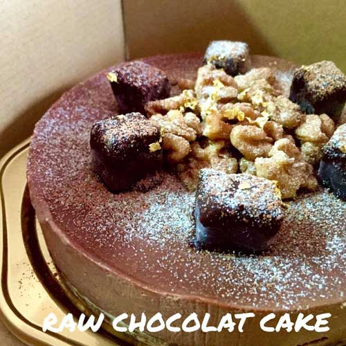 【ロースイーツ】 haru life style  ローケーキ ナッツ&チョコレート 15�