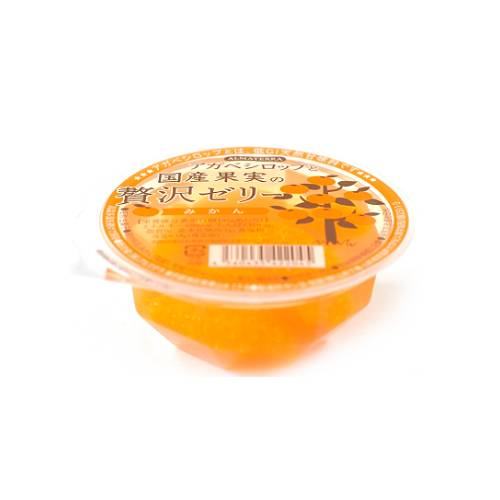 【4月〜数量限定】アルマテラ アガベシロップと国産果実の贅沢ゼリー みかん 145g