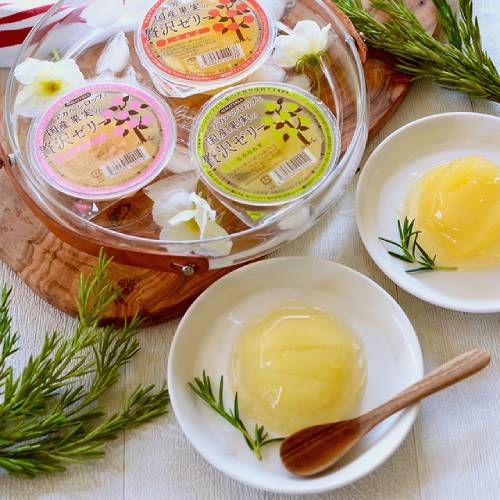 【4月〜数量限定】アルマテラ アガベシロップと国産果実の贅沢ゼリー りんご 145g