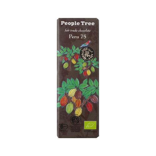 【秋冬限定】People Tree フェアトレードチョコレート オーガニック ペルー75 50g