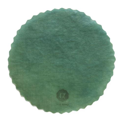 acowrap みつろうラップ 翡翠色(藍&福木染め)