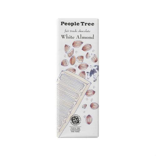 【秋冬限定】People Tree フェアトレードチョコレート ホワイトアーモンド 50g