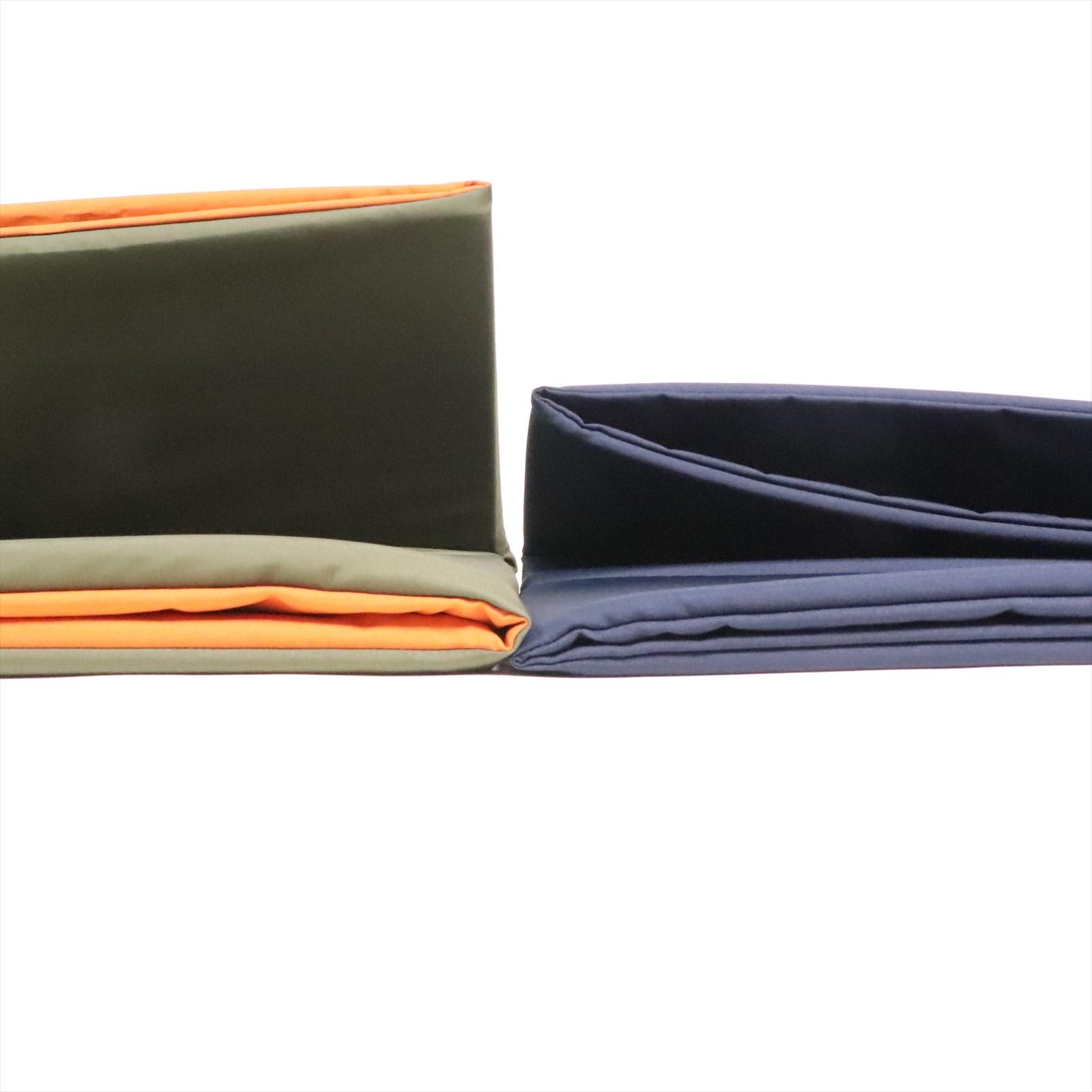 kazahana カザハナ finder pad double ファインダーパッド ダブル ダークカーキ×オレンジ  「店頭受取ポイントUP商品」ポイント700Pプレゼント