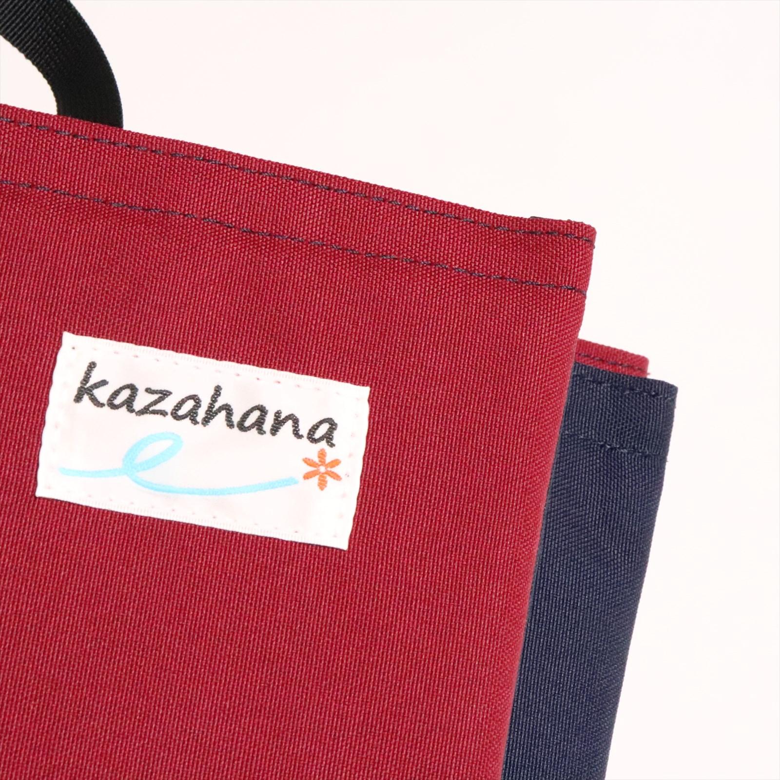 kazahana カザハナ finder pad ファインダーパッド ネイビー×ワイン 「店頭受取ポイントUP商品」ポイント700Pプレゼント