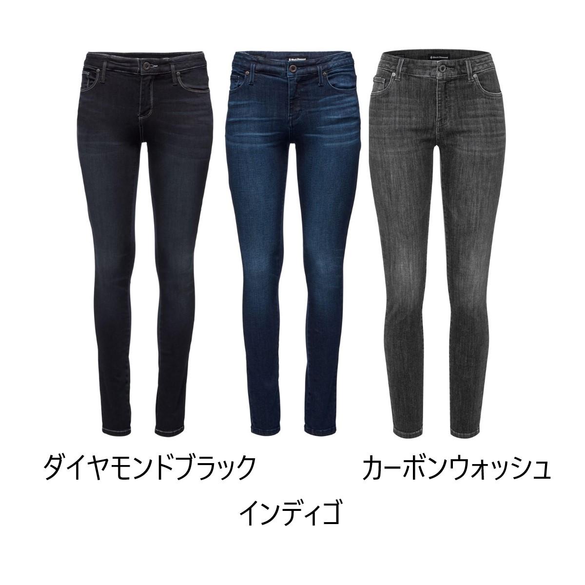 ブラックダイヤモンド Wsフォージドデニムパンツ