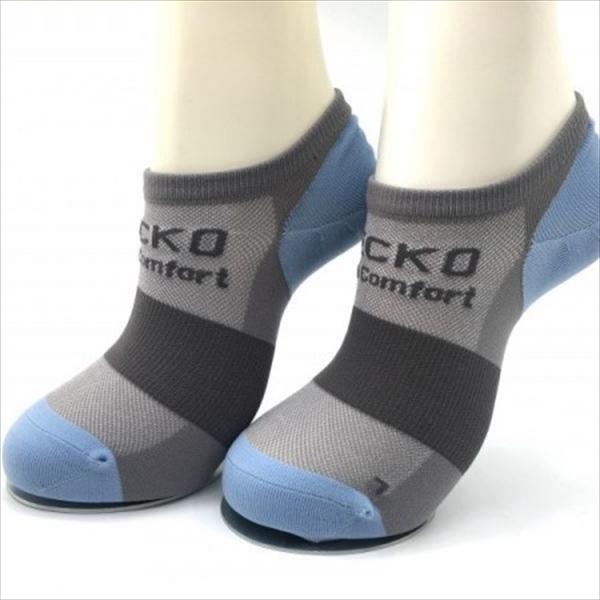 GECKO Ergo Comfort ボルダリングソックス Gray/Blue