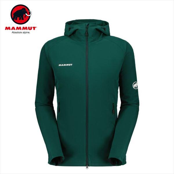 マムート Macun SO Hooded Jacket AF dark teal