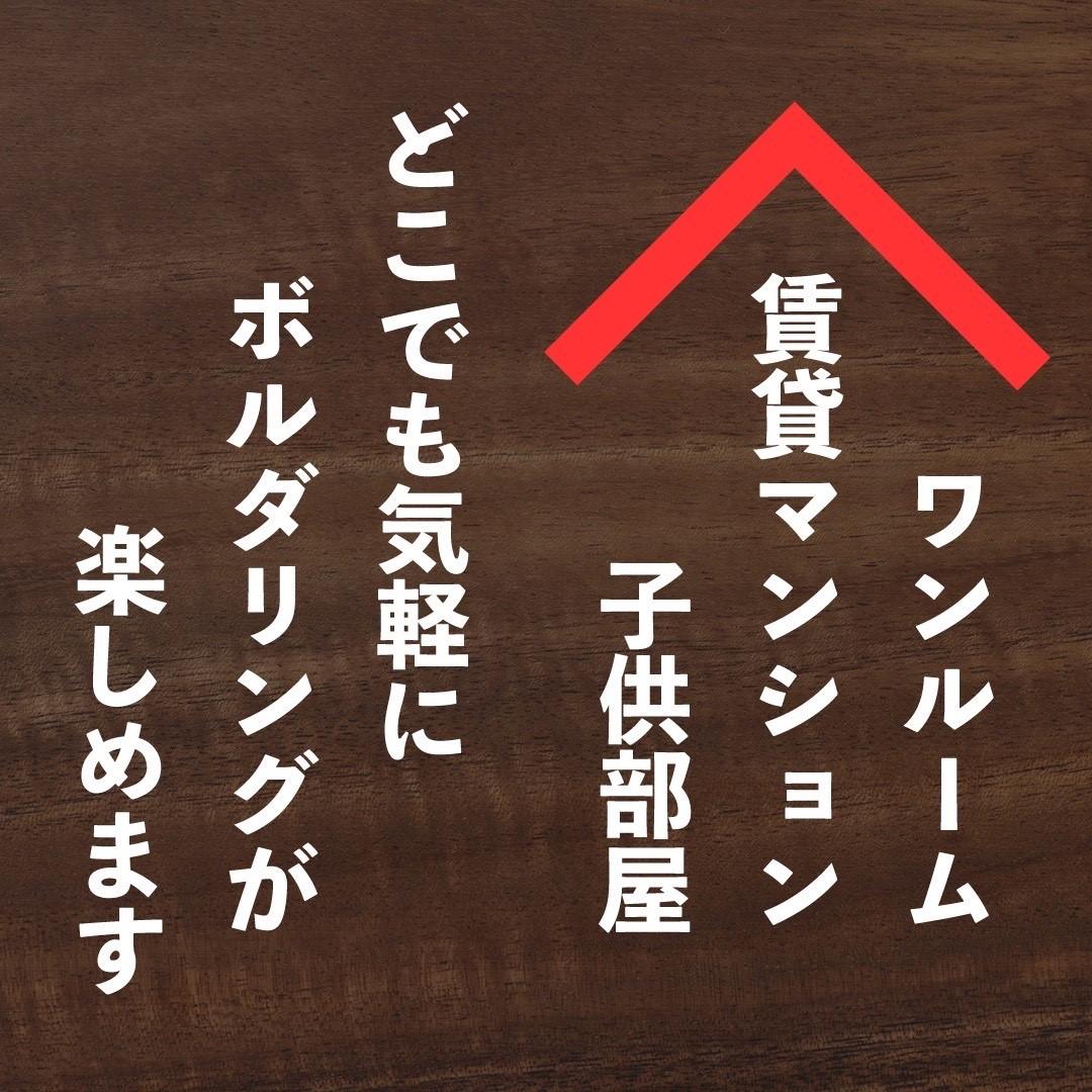 【40% OFF 109780円→】おうちでボルダリング 【 宅ぼる 】 ウォルナット