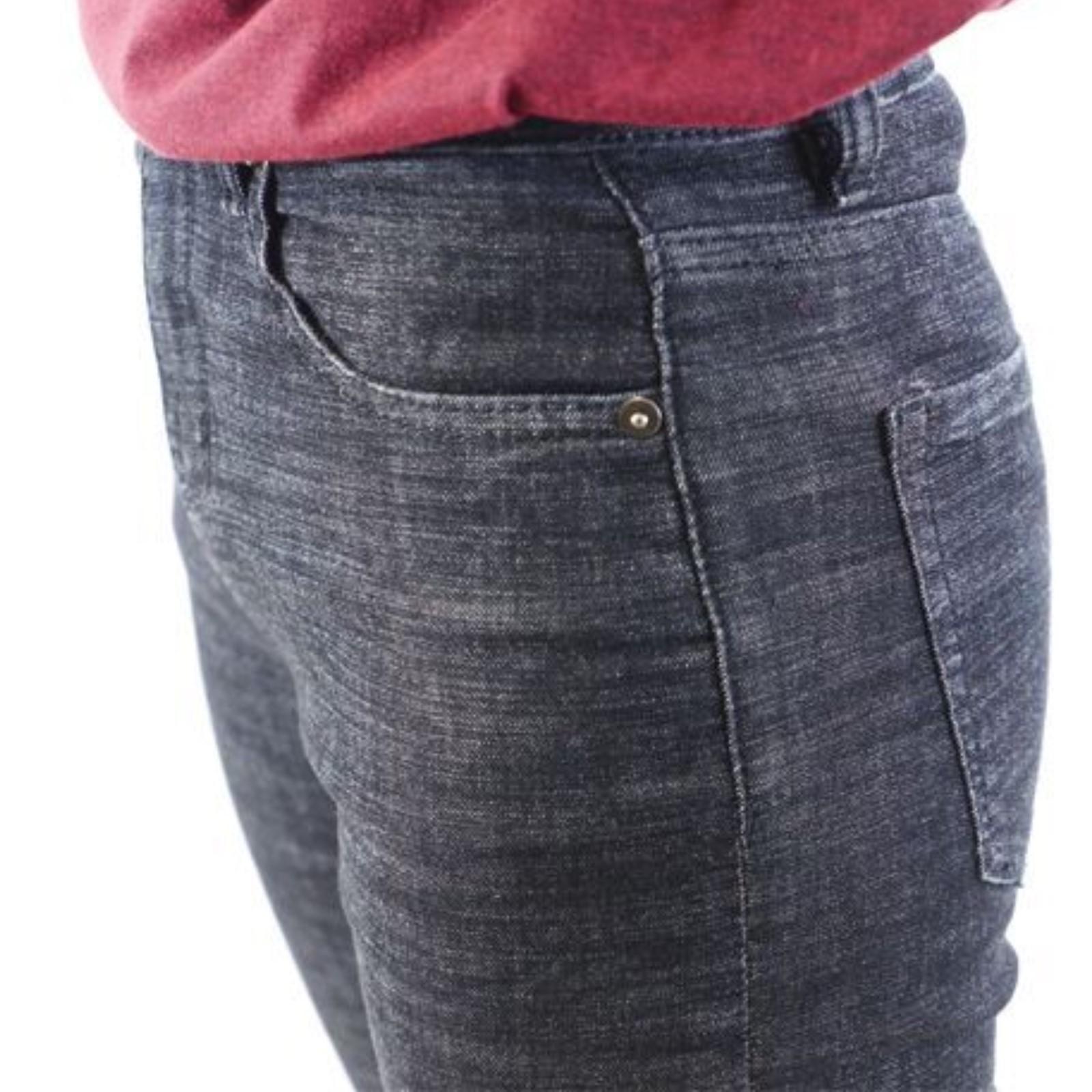 ソイル Women's Jeans Black