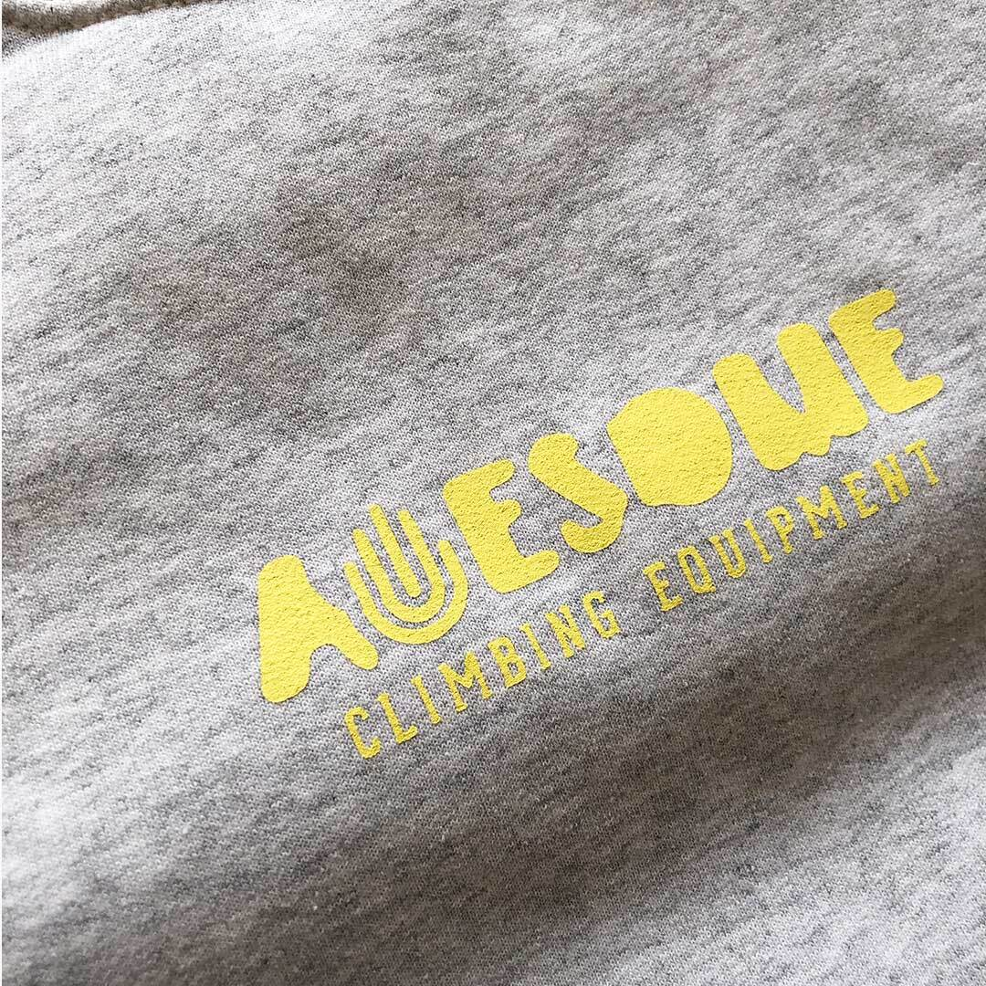 Awesome TEAM CREW スウェット アッシュ