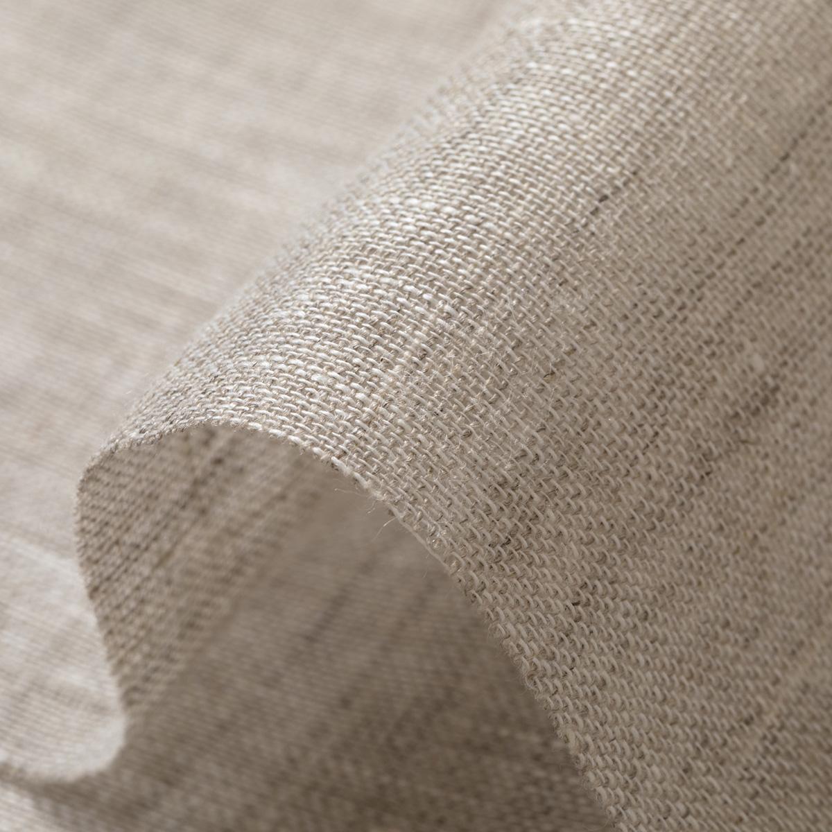 150cm巾 【 リネン 100% 生地 】 オートミール 無地 薄地 ガーゼ 1m単位 R0232 <旧品番 N-2320> 【ストール、カーテン、シャツに最適】