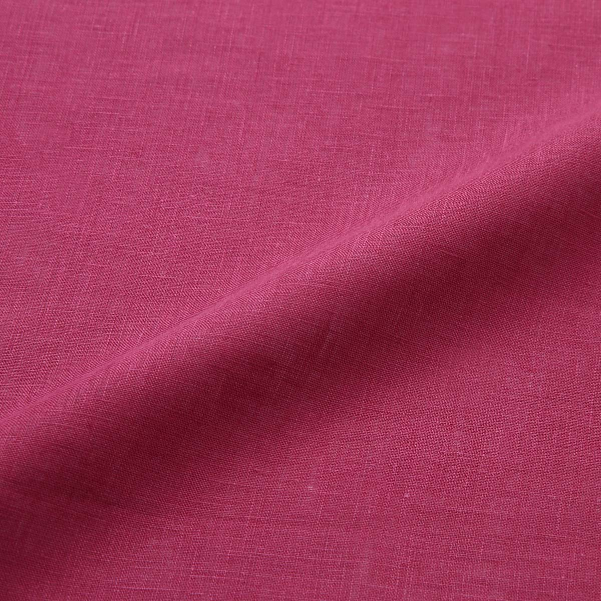 150cm巾【 リネン 100%生地 】 ボルドー 薄地 1m単位 R0078-232【シャツ、スカート、ワンピースに最適】