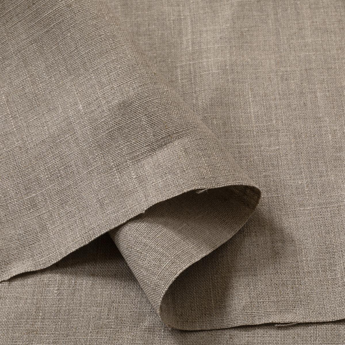 175cm幅 リネン100%生地 ナチュラル 無地 厚地 1m単位 R2159