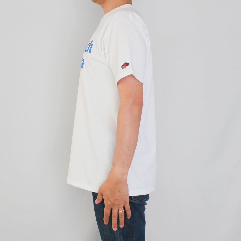 【6月2日発売】【数量限定/日本展開10周年記念コラボ】FRUIT OF THE LOOM Tシャツ L / フレディ レック・ウォッシュサロン