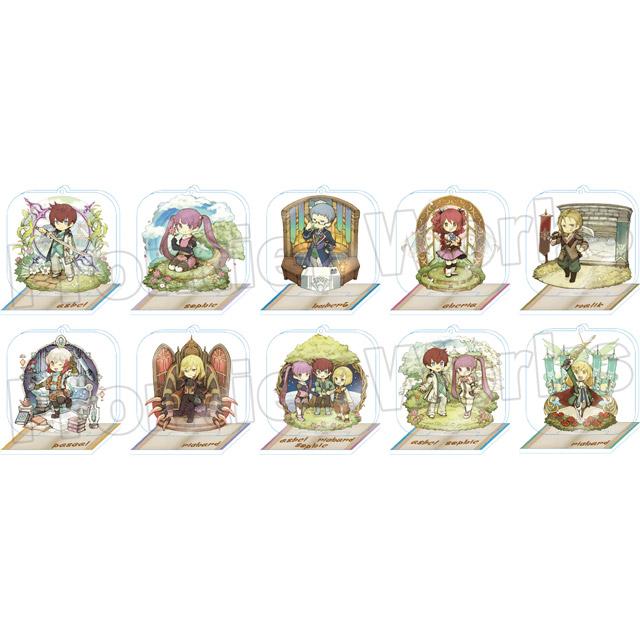 【グッズ】テイルズ オブ グレイセス エフ キャラクタークロニクル トレーディングアクリルスタンドキーホルダー BOX