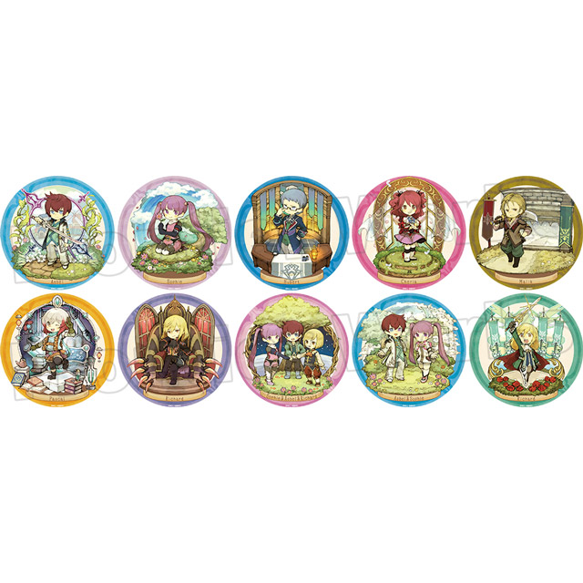 【グッズ】テイルズ オブ グレイセス エフ キャラクタークロニクル トレーディング缶バッジ BOX